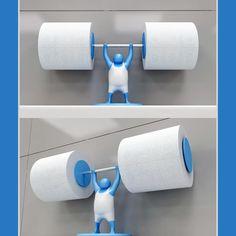 Clean Snatch Toilet Paper Holder
