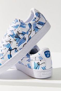 Shop Puma X Shantell Martin Basket Sneaker at Urban Outfitters today. Discover more selections just like this online or in-store. Shop your favorite brands and sign up for UO Rewards to receive 10% off your next purchase!