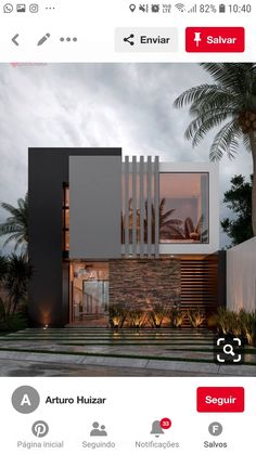 Front Elevation Designs, House Elevation, Bungalow House Design, Modern House Design, Architecture Details, Modern Architecture, Victoria House, Brutalist, Residential Architecture