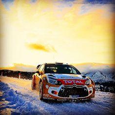 Essais du Rallye de Monte-Carlo, dans le #Devoluy !