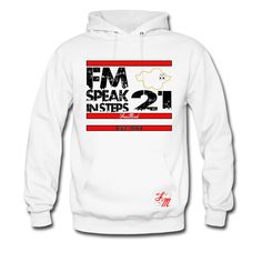 "This FreeMind ""Speak In Steps Hoodie  Hoodie is printed on a Hoodie and designed by ALIDaGod. Available in many sizes and colours. Buy your own Hoodie with a FreeMind ""Speak In Steps Hoodie  design."