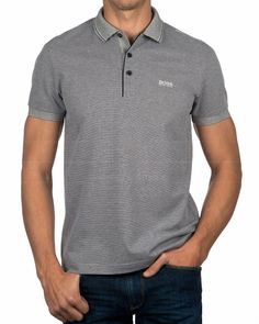Men's Fashion – How to Nail Office wear – Designer Fashion Tips Hugo Boss, Mens Attire, Latest Mens Fashion, Polo T Shirts, Athleisure, Fashion Looks, Men's Fashion, Menswear, Casual