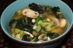 Miso and Vegetable Soup — Real Food Now Healthy Soup Recipes, Real Food Recipes, Food Now, Miso Soup, Vegetables, Ethnic Recipes, Hearty Soup Recipes, Vegetable Recipes, Veggies