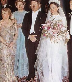 Adolf at a wedding