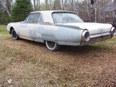 Who's going to snag this 1961 Ford Thunderbird beauty up from UsedWinnipeg.com to make her spiffy again? Wow.  #classiccar #vintage