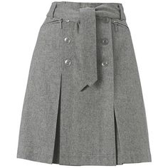 Hobbs Après Ski Skirt, Ash, 10 and other apparel, accessories and trends. Browse and shop 8 related looks. Skirt Outfits, Dress Skirt, Cute Outfits, Waist Skirt, Model Rok, Hijab Fashion, Fashion Dresses, Women's Dresses, Gray Skirt