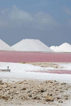 salt pans, Bonaire