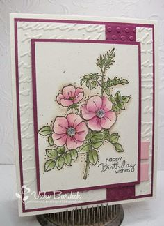 Happy Hump Day Peeps!! Today I am sharing a card I made yesterday using the Color Challenge this...