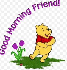 #Good Morning Pinterest. Wishing you a Pooh day. Don't forget to smile.