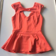 Arden B Coral Peplum Blouse Top Size Xs Arden B Coral Peplum Blouse Top Size Xs ...pre-loved and used a few times good condition Arden B Tops Blouses