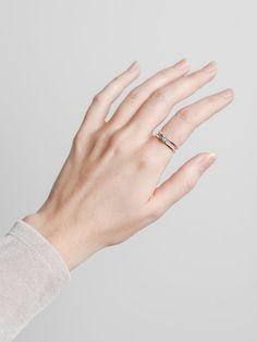Knotti rings by Susanna Kivioja. Available at www.uumarket.fi - UU Market: Home of New Finnish Design.