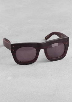 & Other Stories D-frame sunglasses