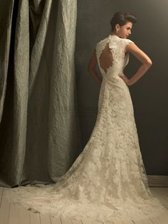 Gorgeous lace #wedding dress