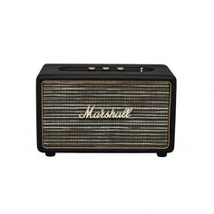 Marshall Speakers- Acton `One size Details : 3.5mm cable jack * Color : Black * 26.5 x 16 x 15 cm. * Weight : 3 kg * 1 year guarantee http://www.MightGet.com/january-2017-13/marshall-speakers-acton-one-size.asp