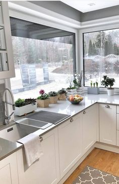 Kitchen Designs and Trends That Are Here to Stay! Part 13 ; Layout Design, Küchen Design, House Design, Design Ideas, Decor Interior Design, Interior Styling, Kitchen Renovation Design, Kitchen Conversion, Home Improvement Loans