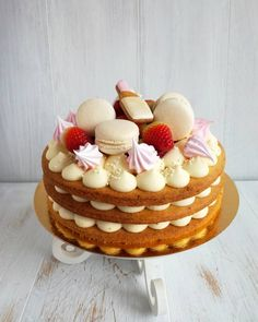 Now order yummy cakes for Mother's Day 🍰for orders DM 🍓 – self-condemning-com Cake Cookies, Cupcake Cakes, Bolos Naked Cake, Biscuit Cake, Number Cakes, Just Cakes, Drip Cakes, Fancy Cakes, Pretty Cakes