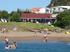 Bay of Islands Beachfront - Tapeka del Mar - Russell Beach House for rent Bose Home Theater, Beach Houses For Rent, Bay Of Islands, Holiday Places, Fishing Charters, Luxury Holidays, Boat Tours, Rental Property, Vacation Trips