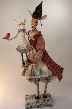 loving the costume and expression on this polymorphic art doll