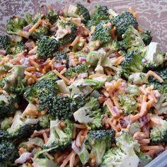 Skinny Broccoli Salad Recipe   Key Ingredient