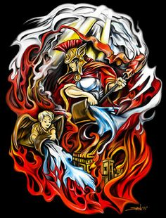 Saint Florian - Painting by Michael Spano