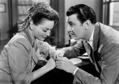 "Olivia and George Brent in ""In This Our Life"" (1942)"