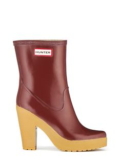 Womans High Heel Rain Boots   Rubber Boots   Hunter Boot Ltd ...