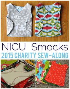 Did you take part in last year's Craftsy community service sewing project? Read about last year's incredible response to the NICU smock sew-along and learn how to get involved in our new charity sewing drive!