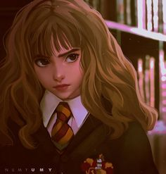 Hermione Granger Study from screenshot :3 AVAILABLE ON MY PATREON: www.patreon.com/posts/hermione… YOU GET ACCESS TO: All my monthly pieces: (Full size drawings + sketch + color palette + lineart) x10 High-resolutions of all my drawings. Tutorials...