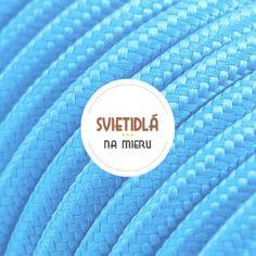 Kábel-dvojžilový-v-podobe-textilnej-šnúry-v-modrej-farbe Luster, Wallet, Personalized Items, Retro, Cards, Cable, Maps, Retro Illustration, Playing Cards