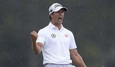 Adam Scott's Masters win     http://www.golf.com/tour-and-news/masters-201-adam-scotts-win-reminiscent-phil-mickelson-2004