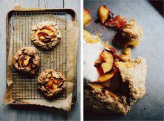 Nectarine Tart With Rye-Cornmeal Crust