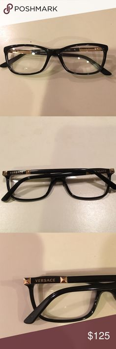 dcc02351f VERSACE EYEGLASSES frame new black VERSACE EYEGLASSES frame new black  Versace Accessories Glasses Versace Eyeglasses,