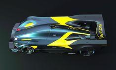 """Designers Belgas lançam modelos """"Tesla Le Mans 2030"""""""