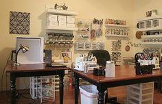 Nice craft room
