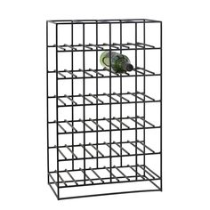 Wine Rack 24, Black £106. - RoyalDesign.co.uk