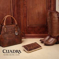 #Bags #Bolsa #Cartera #Botas #CUADRA #Boots #FrancoCUADRA #Leather