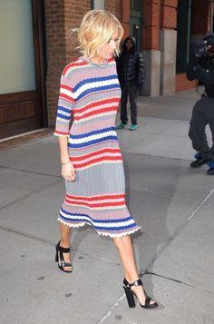 Sienna Miller Leaving Her Hotel In NYC