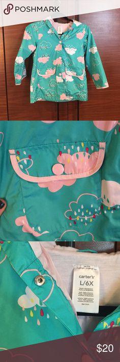 {Host Pick! Carter's Raincoat} Precious! The cutest little raincoat. EUC. Carter's Jackets & Coats Raincoats