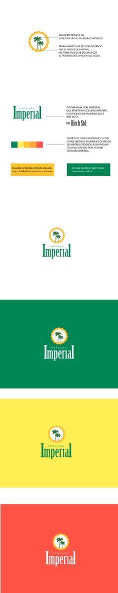 Branding da chácara imperial, Uma chácara de lazer onde o que predomina é a Palmeira Imperial.