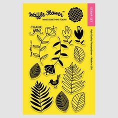 Leafy Stamp Set