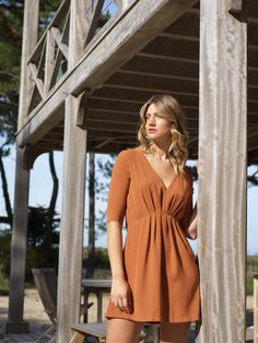 Robe témoin Made In France, Wrap Dress, Collection, Dresses, Fashion, Civil Wedding, Shopping, Woman Clothing, Dress Ideas