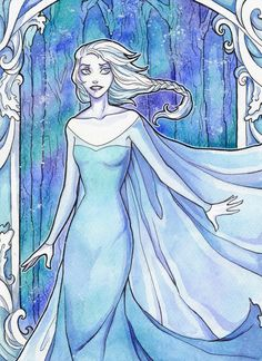 Elsa by LadySiryna on deviantART