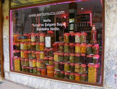 I remember this pickle shop in Istanbul