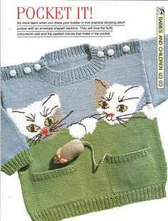 a031b36036c Mix knitting and crochet pattern - Baby toddler
