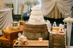 Ontario Vintage Handmade Wedding by Sandy Tam Photography - via ruffled
