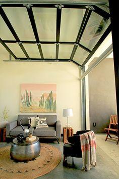 New Main Door Design Modern Spaces Ideas Modern Patio Doors, Modern Garage Doors, Industrial Garage Door, Sliding Garage Doors, Glass Garage Door, Garage Door Windows, Glass Doors, Narrow Patio Ideas, Main Door Design