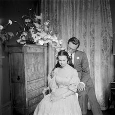 Gloria Vanderbilt and Sidney Lumet, photo by Gordon Parks