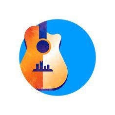 Usa Today, One Color, Badge, Branding, Illustration, Design, Brand Management, Illustrations