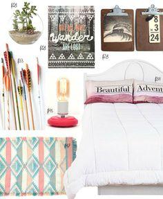 Dorm Style: Room for Adventure Dorm Design, House Design, Interior Design, College Dorm Rooms, Uni Dorm, College Life, Home Bedroom, Bedrooms, Apartment Living
