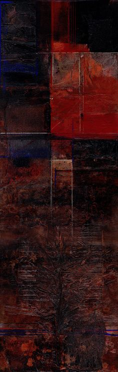 A Soulful Journey ... Large contemporary art by Kathy Morton Stanion